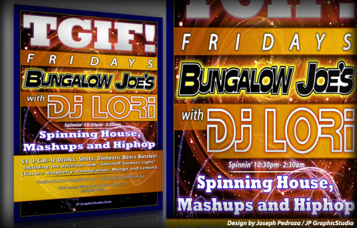 Bungalow Joe's | JP GraphicStudio