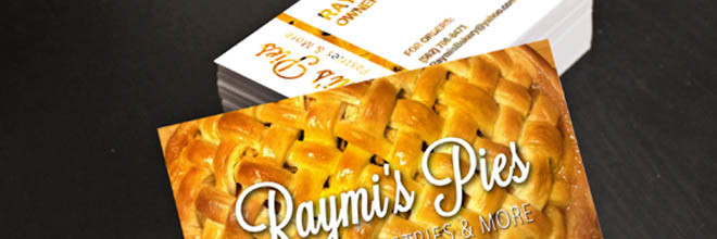 Raymi's Pies Pastries & More - 220 | Design by JP GraphicStudio