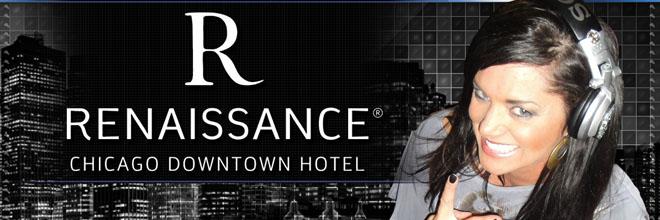 Renaissance Chicago Downtown Hotel - DJ LORi - by JPGraphicStudio.Com